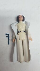 Vintage star wars Princess Leia Organa 100% Complete Blue Blaster 1977 Kenner