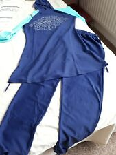 Modest Women's Muslim Islamic Full Cover Swimwear Beachwear Swim Clothes Burkini