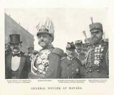1899 General Weyler At Havana