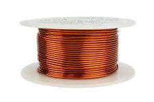 TEMCo Magnet Wire 18 AWG Gauge Enameled Copper 200C 8oz 100ft Coil Winding