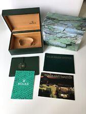 Rolex GMT Complete  Box Set 65.00.02  period 2001 - 16700 16710 16713 16718