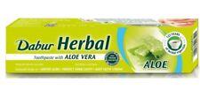 Dabur Aloe Vera Herbal Toothpaste No Fluoride Teeth Gum Care Vegetarian 100ml