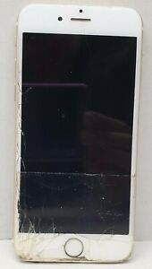 "Apple Iphone 6 A1586 4G LTE 16GB 4.7"" SOLD AS IS/ Crack Screen/ Do not power on"
