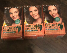 3-PACK Clairol Natural Instincts Hair Color ORIGINAL #13 (now #6) LIGHT BROWN
