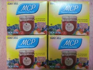 Sure Jell MCP Premium Fruit Pectin 2 oz Per Box Lot of 5 Exp MARCH 2023