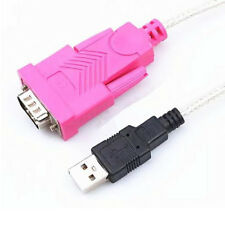 USB 2.0 Male to RS232 9 Pin DB9 Serial Male Cable