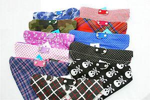 """Hundehalsband mit Tuch Bandana Größe """"L"""" - viele Farbvarianten"""
