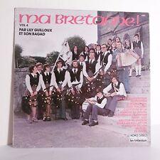 """33T Lily GUILLOUX & BAGAD Vinyle LP 12"""" MA BRETAGNE Vol. 4 Folk TRETEAUX 6237"""