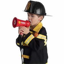 Pretend Play Kids Loud Speaker Bullhorns w/ Siren Fire Fighter's Megaphone Toy