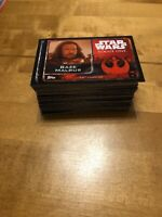 Star Wars Rogue One Topps Cards - 15 Cards For £2 You Pick