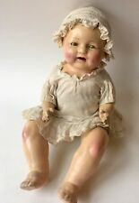 "Antique Composition 13"" Baby Doll with Sleepy Eyes 1920s/30s"