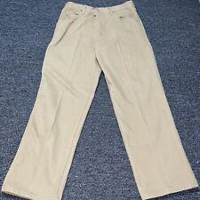 Jesse James 32x30 Work Fit 12 Ounce Canvas Utility Carpenter Pants Beige Khaki