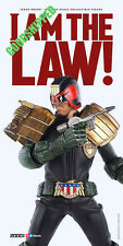 "3A OFFICAL 2000AD 2000 AD JUDGE DREDD 1/6 12.3"" 1320MM NEW FULLY POSABLE"