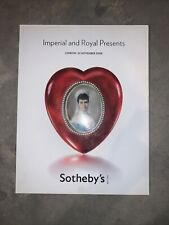 Imperial and Royal Presents. Sotheby's London, 24 November 2008
