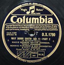 """12"""" 78 - Marie Benson et al - Way Down South (No.1) - Columbia DX1790"""