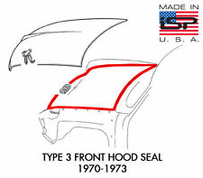 New VW Type 3 Front Hood Seal 1970-1973 Notchback Squareback Fastback
