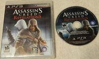 Assassin's Creed: Revelations (Sony PlayStation 3, 2011) Disc Case - No Book