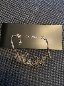 Chanel Sunglasses Silver Charming Chain New With Booklet