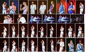 67 ABBA colour concert photographs - Wembley 1979