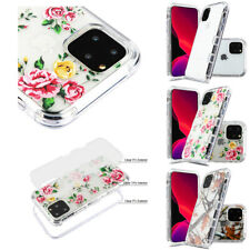 FOR APPLE IPHONE 11 PRO MAX TRANSPARENT CLEAR DUAL LAYER CASE COVER+STYLUS