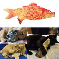 Gatto giocattolo interattivo Gatto mentre Gioca a forma di pesce Giocattoli P3J5