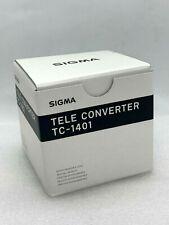 New SIGMA TC-1401 1.4x Teleconverter for SIGMA Mount