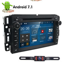 Free Camera+ For GMC Double DIN Car Stereo DVD Player Radio SAT GPS Built-in Map
