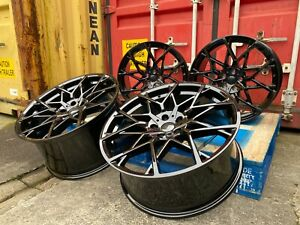 795M STYLE ALLOY WHEELS GLOSS BLACK FITS BMW 3 SERIES 4 SERIES 5 SERIES X3 X4 Z4