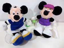 Disney Mickey Mouse Doll Beanbag Plush Tennis Minnie 6-8""