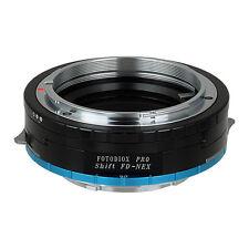 Fotodiox Objektivadapter Pro Shift Canon FD Linse für Sony Nex Kamera