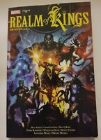 Marvel - Realm of Kings - SoftcoverTPB -NEW - KOREAN LANGUAGE INHUMANS WARLOCK