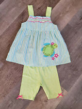 Nannette Girl's Top & Shorts Embroidered Size 6X