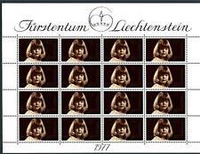 LIECHTENSTEIN - 1977 - Effigie del Principessa Tatjana