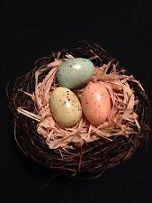 Bird's Nest With Eggs