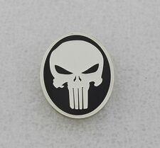 THE PUNISHER SKULL LAPEL PIN Badge