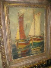 REICHERT Theodor, *1919 Segelboote im Sonnenschein