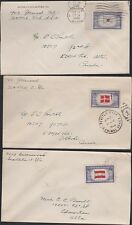 USA 909-921 Overrun Countries on 13 covers
