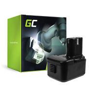 GC Akku BCC 1212 BCC1215 BCC 1215 BCH1220 für Hitachi (2Ah 12V)