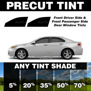 Precut Window Tint for Chevy Prizm 98-02 (Front Doors Any Shade)