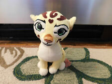 Ty Beanie Babies Disney Fuli Lion Guard Cheetah Sparkle Emerald Green Eyes Plush