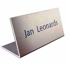 Namensschild Schild Büroschild Tischaufsteller mit Gravur /  Beschriftung   (71)