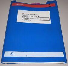 Werkstatthandbuch VW Transporter T4 Bulli Bus Elektrische Anlage ab Baujahr 1991