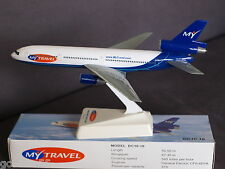My Travel Airways/ Airtours DC10-10 Hybrid Livery Push Fit Model 1:250 Scale