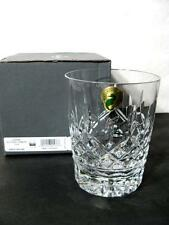 WATERFORD LISMORE 12oz DOUBLE OLD FASHIONED NEW NIB WITH MANUFACTURER'S STICKERS