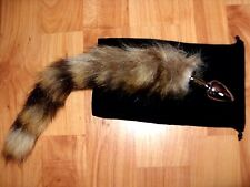 """*EBAY CHEAPEST SEX TOYS*  1"""" ANAL PLUG WITH 12"""" FAUX FURR TAIL ANAL FUN PLEASURE"""