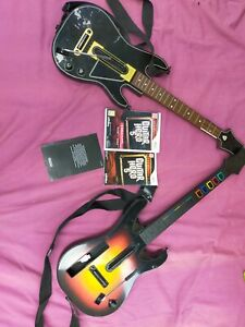 Guitare + Jeu Guitar Hero 5 Rock Nintendo Wii - Wii U Band + kdo hero power WiiU