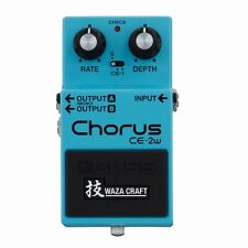 New BOSS CE-2W Chorus Guitar Effects Pedal WAZA CRAFT From Japan