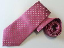 LORENZO CANA Men's Tie Pink 100% Silk