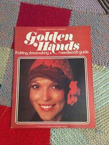 Golden Hands Part 3 Knitting Dressmaking Needlecrafts (Hats) ❤ BARGAIN ❤ VGC