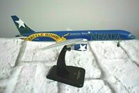Hogan America West Airlines Boeing 757-200 Desk Model Nevada Battle Born 1:200